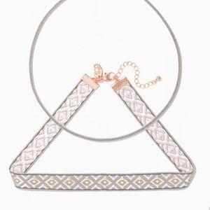 BOHO delicate layer Catrina Choker Necklace Set